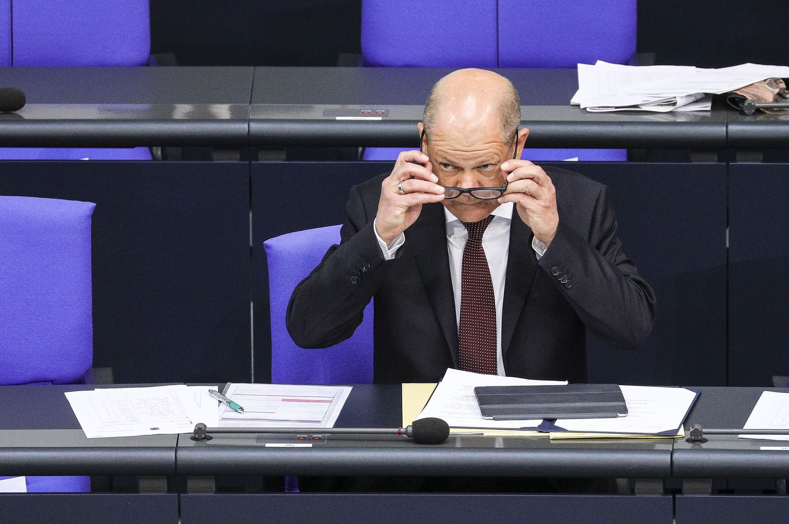 Bundestag session - European Core Values initiative, Berlin, Germany - 14 May 2020