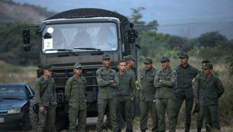 Soldaten in Venezuela