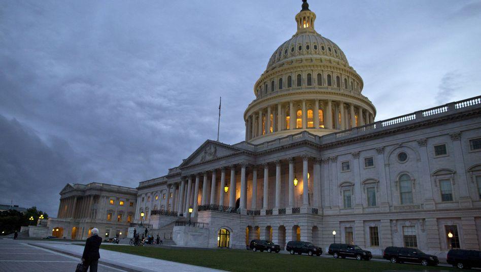 Kapitol in Washington: Große Senatsmehrheit für Kompromiss