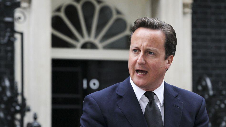 Premier Cameron: Twitter-Eingreiftruppe gegen unkontrollierbare Gerüchte