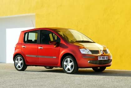 Renault Modus: Loser-Laterne