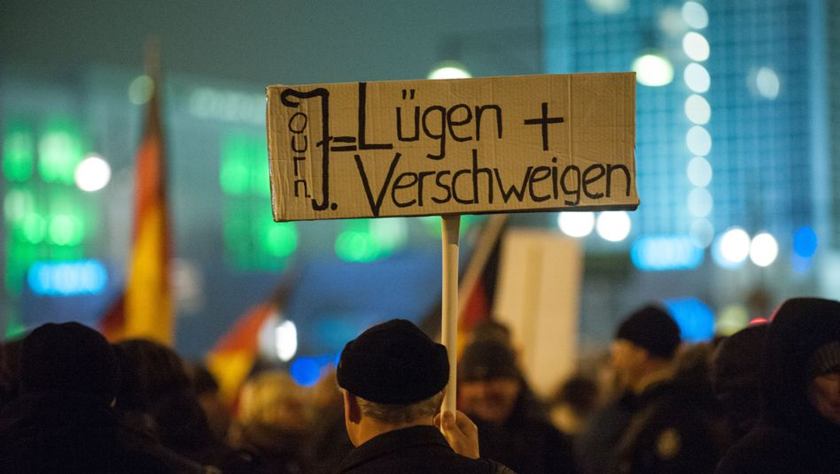 In addition to protesting against Muslims, Germany's Pegida movement has also sought to discredit the media.