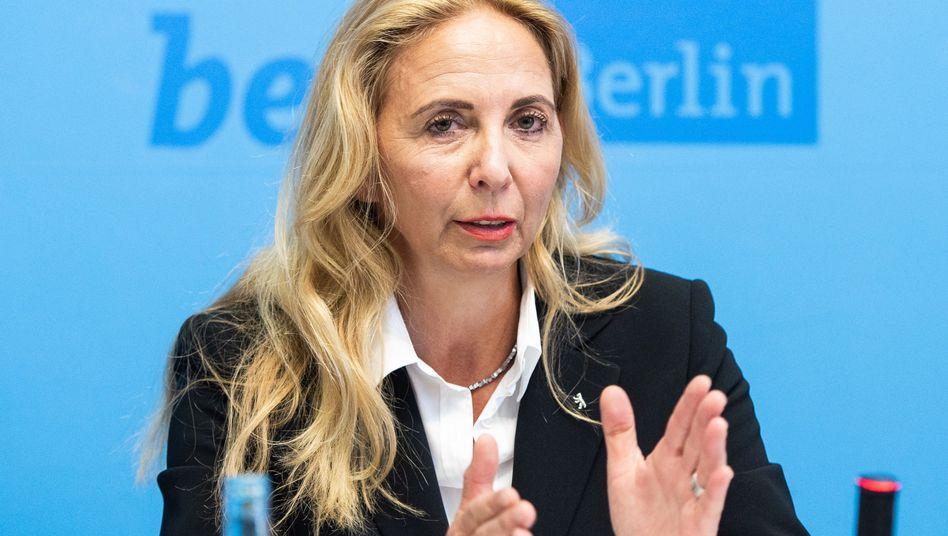 """Berlins Polizeipräsidentin Barbara Slowik: """"Man kann es mit dem Eisberg-Prinzip vergleichen"""""""