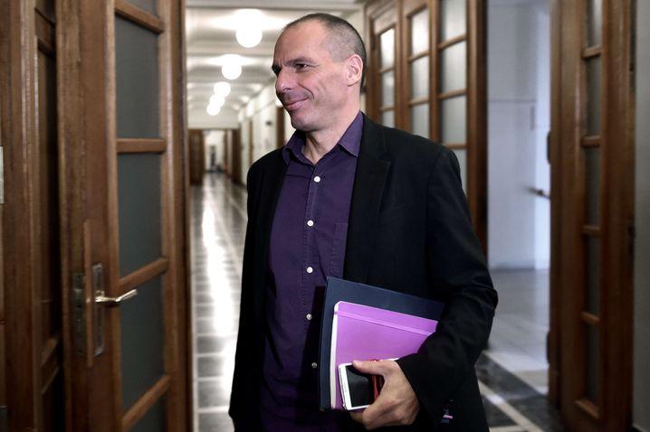 "Tispras on Greek Finance Minister Yanis Varoufakis: ""Everyone has the right to an opinion."""