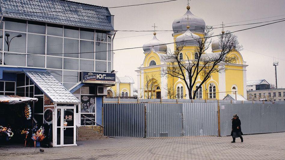 Orthodoxe Kirche in der gagausischen Hauptstadt Comrat