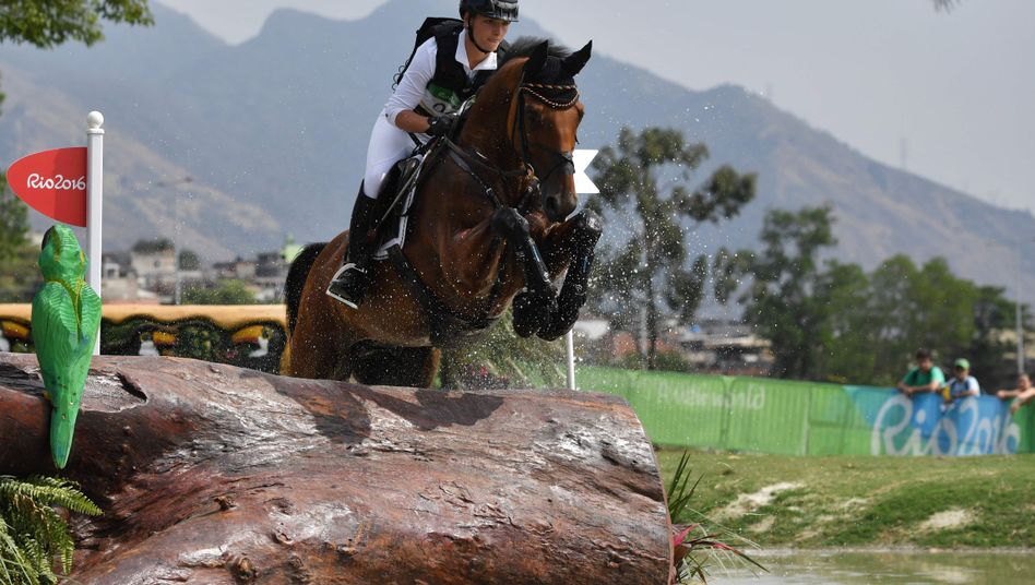 Julia Krajewski und ihr Pferd Samourai du Tho