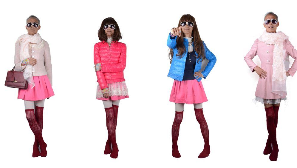 Senior-Model: Opa Liu in Frauenkleidern