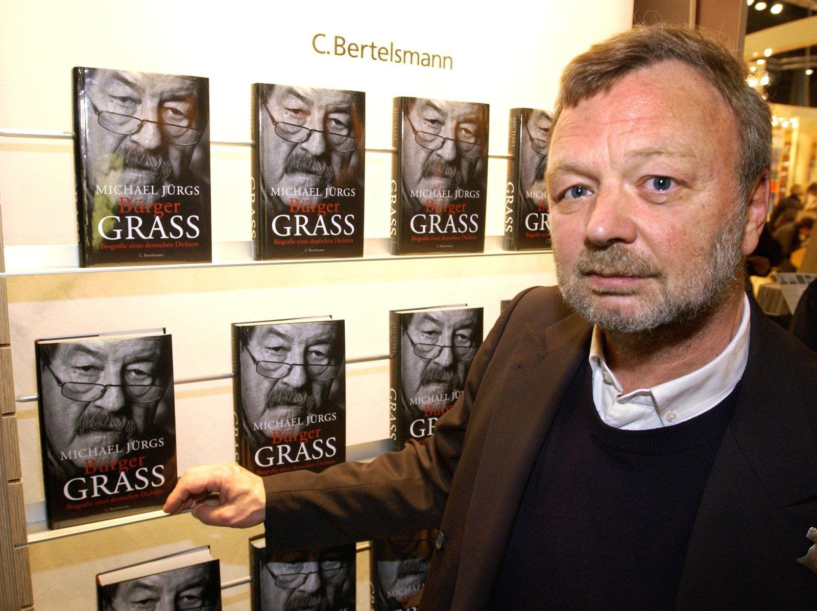 Michael Jürgs / 2002 /Frankfurter Buchmesse