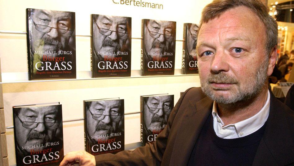 Michael Jürgs 2002 auf der Frankfurter Buchmesse mit seiner Grass-Biografie: Man war immer überrascht