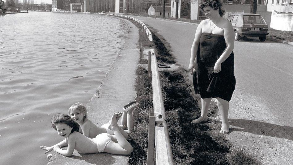 Robert Doisneau »Quai du canal«, Saint-Denis 1987