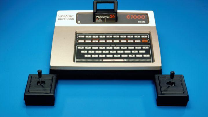 Uralt-Spielkonsole: Bilder aus dem Philips-Archiv