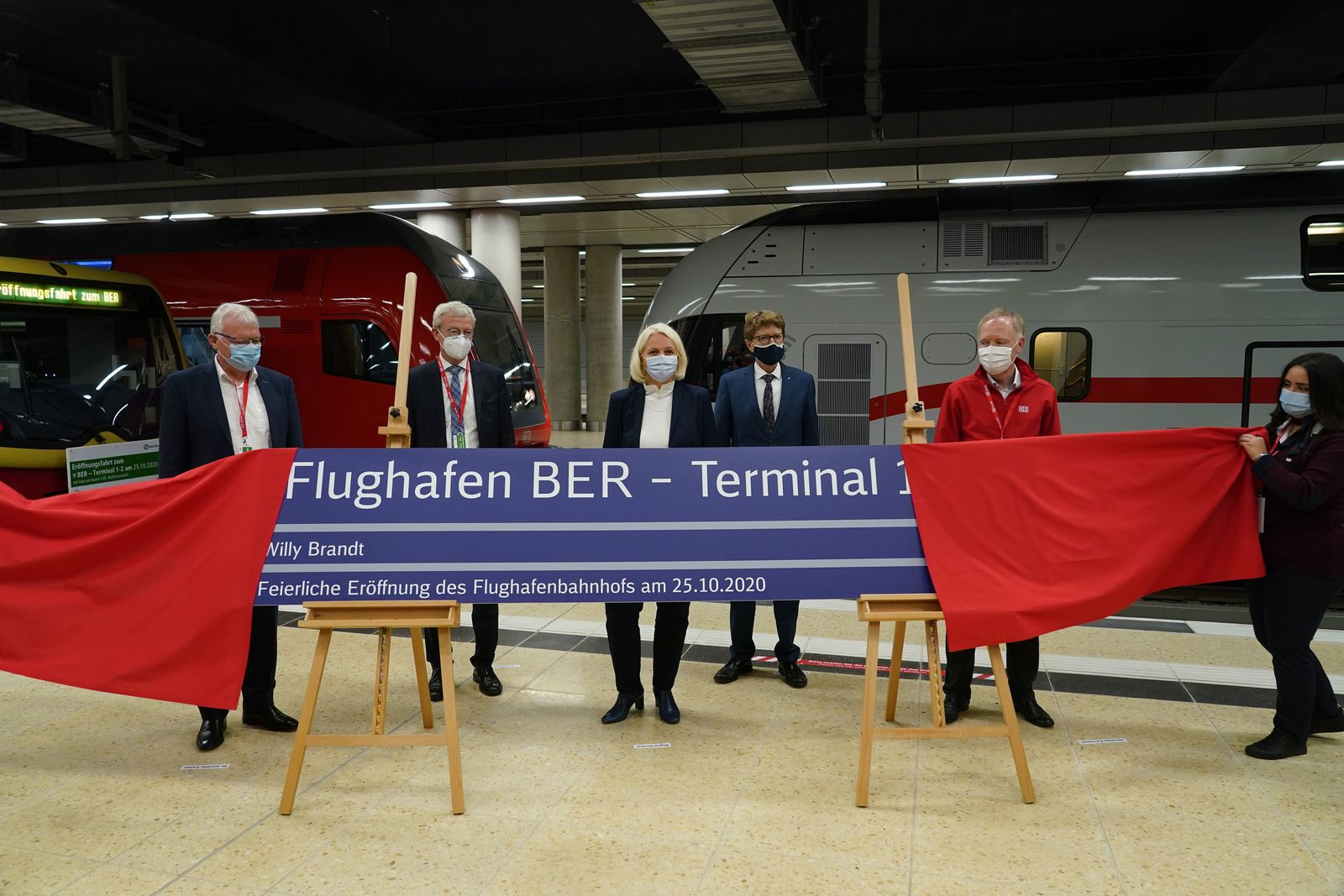 Preparations For New Berlin Airport Opening Continue
