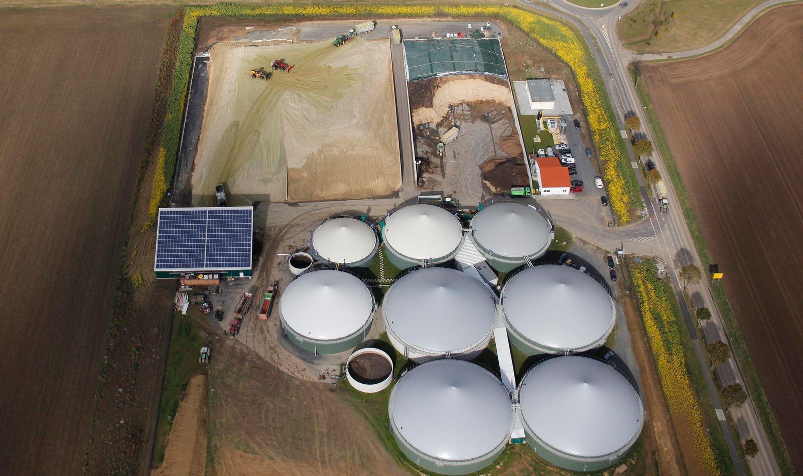 Strategie-Spiel/ Erneubare Energien/ Biogasanlage
