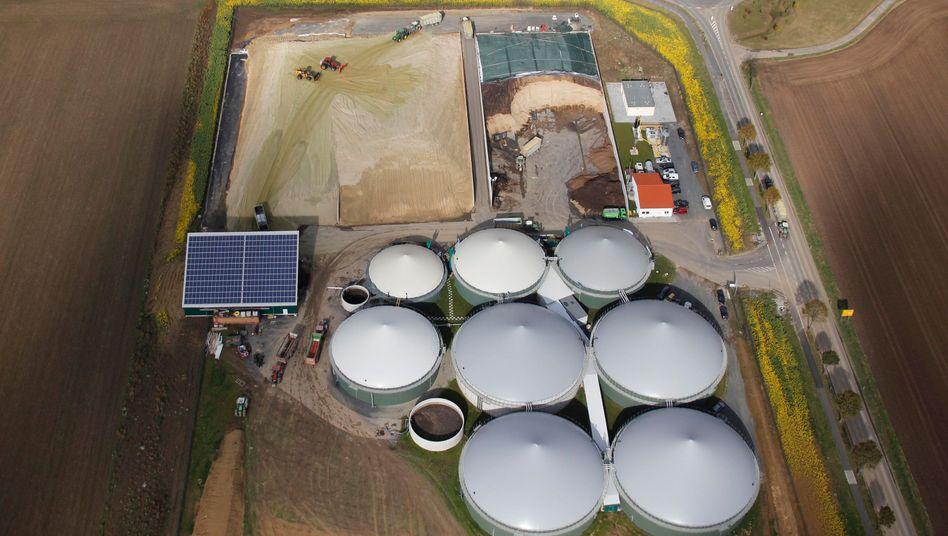 Biogasanlage in Niedersachsen (Archivbild)