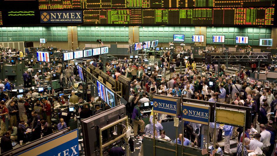 Warenterminbörse in New York: Wette auf billiges Öl in der Zukunft