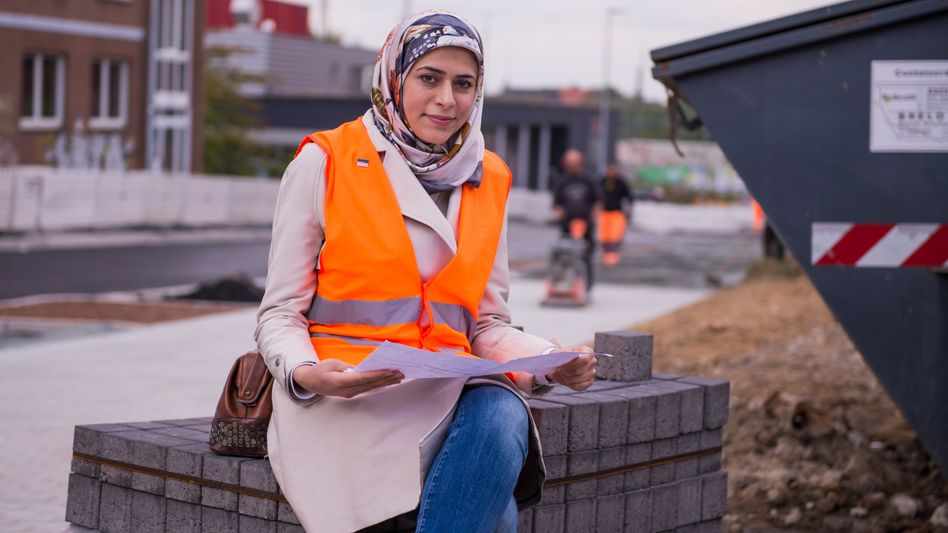 Nour Taleb of Syria has successfully established herself as an environmental engineer in Dortmund, Germany.