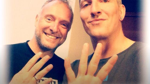 Kommentator Buschmann, Ex-Handballer Kretzschmar: Unterstützer von #wirfuer4