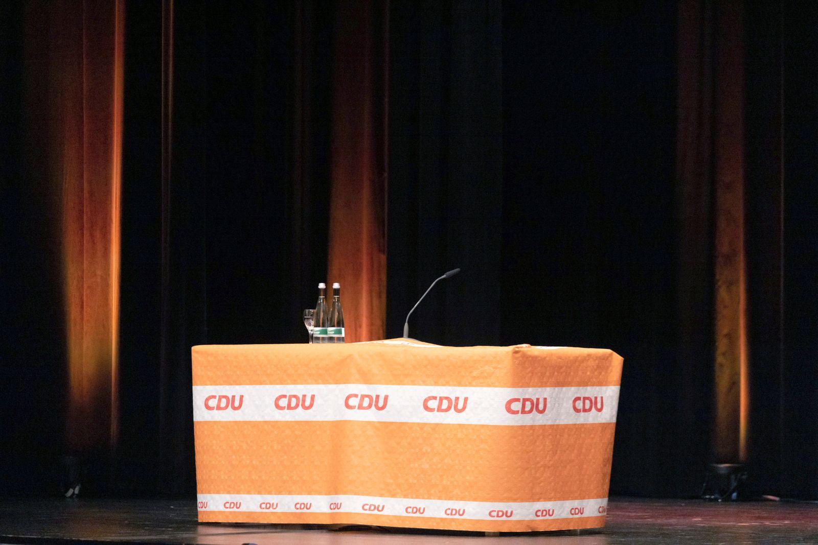Wahlkampf CDU - Offenburg