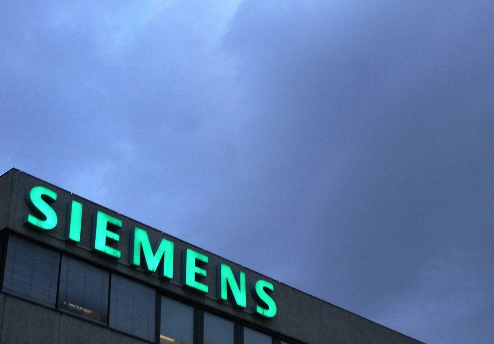 NICHT VERWENDEN Siemens will eigene Bank gruenden