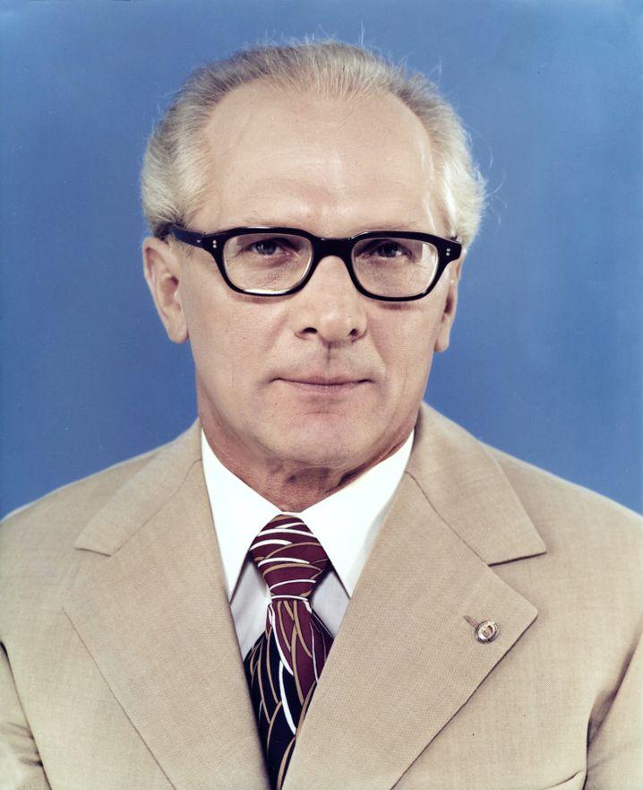 Offizielles Honecker-Portrait 1976