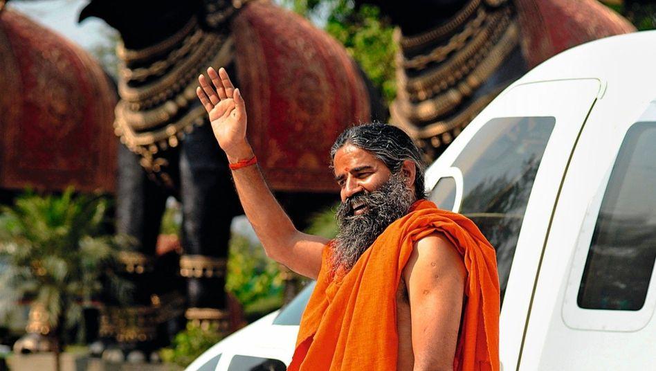 Yoga-Guru und Unternehmer Baba Ramdev