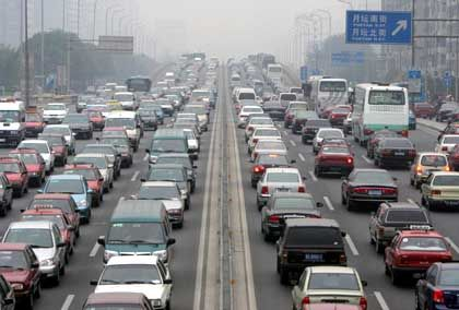 Air pollution has become a major problem for Chinese cities.