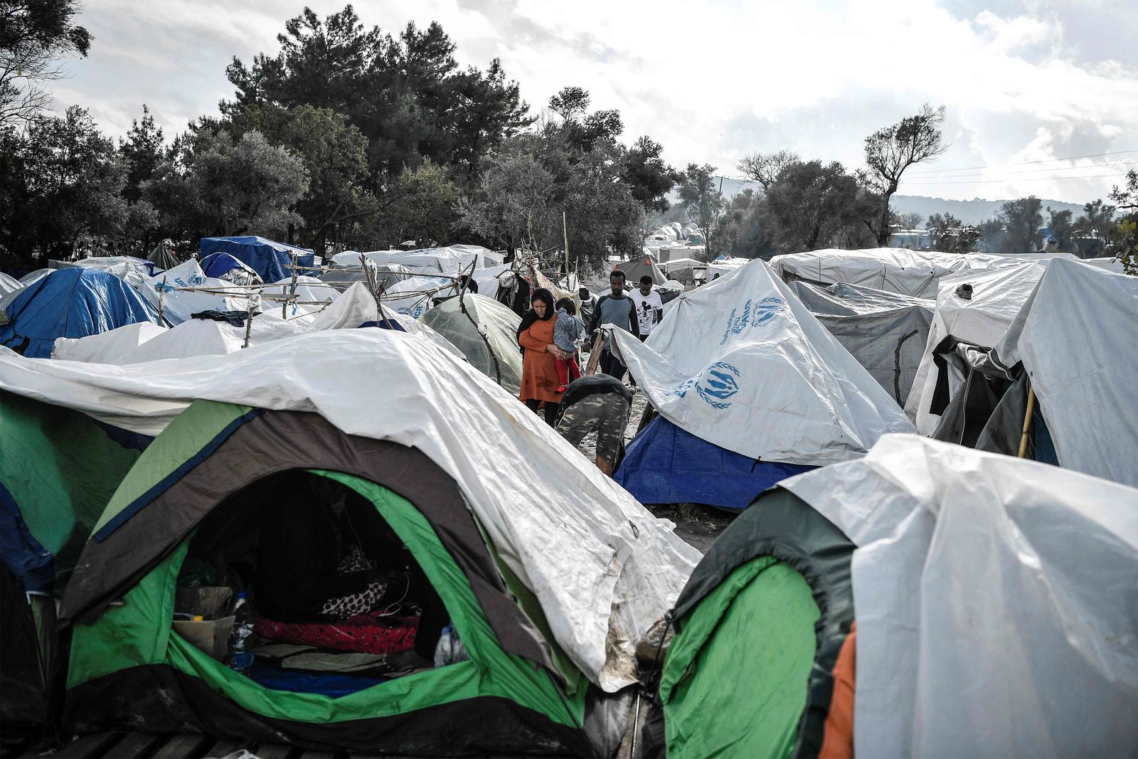 FILES-GREECE-EU-MIGRANTS-HEALTH-VIRUS