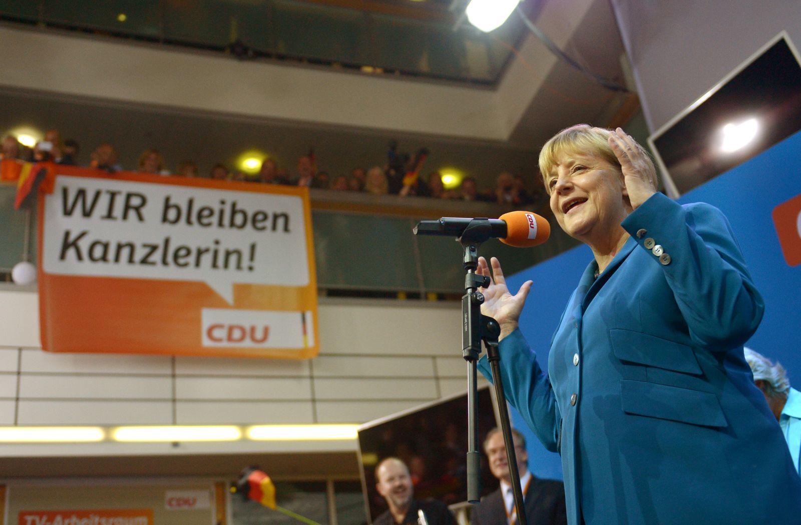 Bundestagswahl 2013 Merkels Sieg
