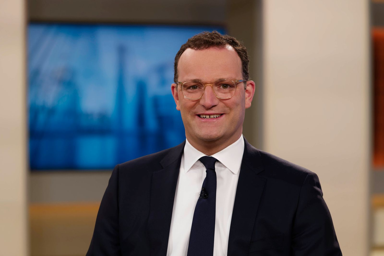 Jens Spahn 2021-05-0, Deutschland, Berlin - Jens Spahn (CDU), Bundesgesundheitsminister, zu Gast bei Anne Will im Erste