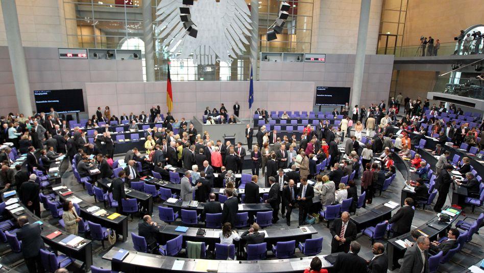 Wieviel Abgeordnete Im Bundestag