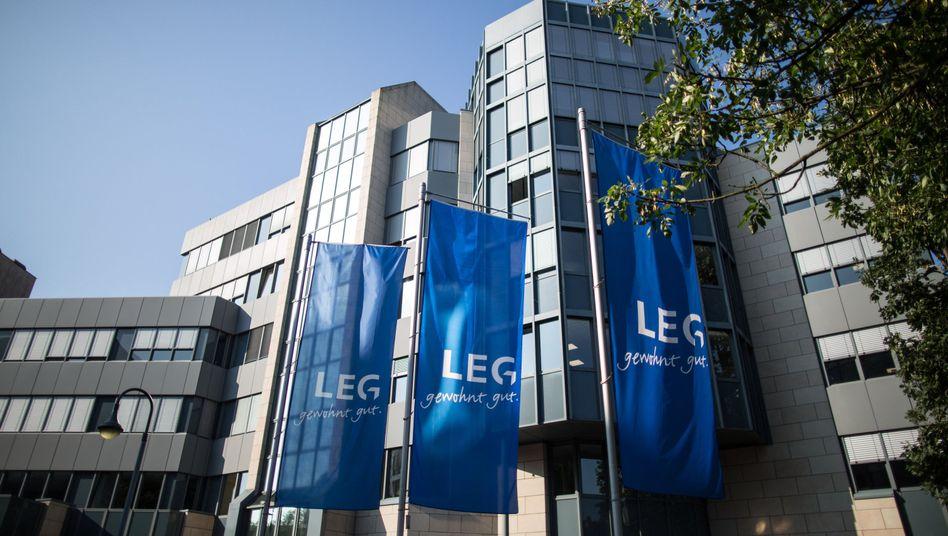 LEG-Zentrale in Düsseldorf: Milliardenfusion der Immobilienkonzerne