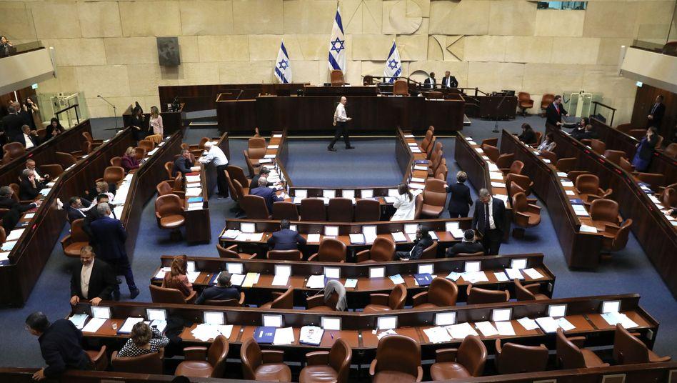 Blick in die Knesset: Die Neuwahl wird am 2. März 2020 stattfinden