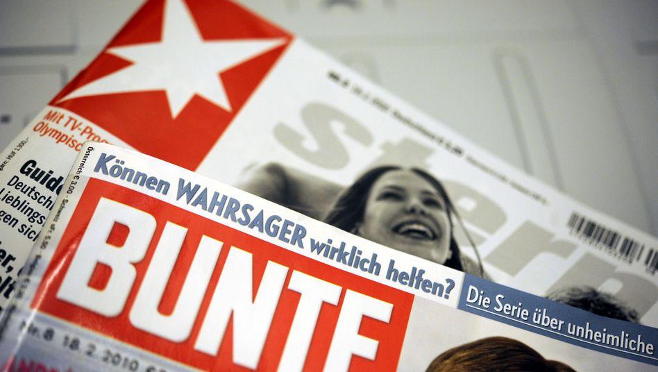 """""""Stern"""" und """"Bunte"""": Der Streit der Wochenmagazine geht in eine neue Runde"""