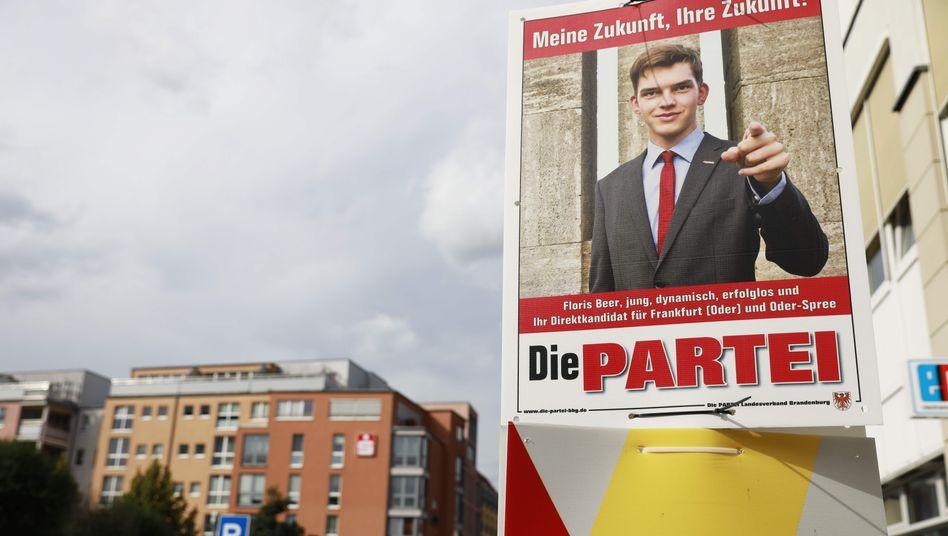 """Wahlplakat der """"Partei"""""""