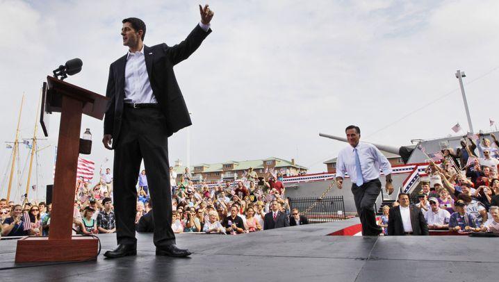 Romney und Ryan: Platz für den neuen Anführer