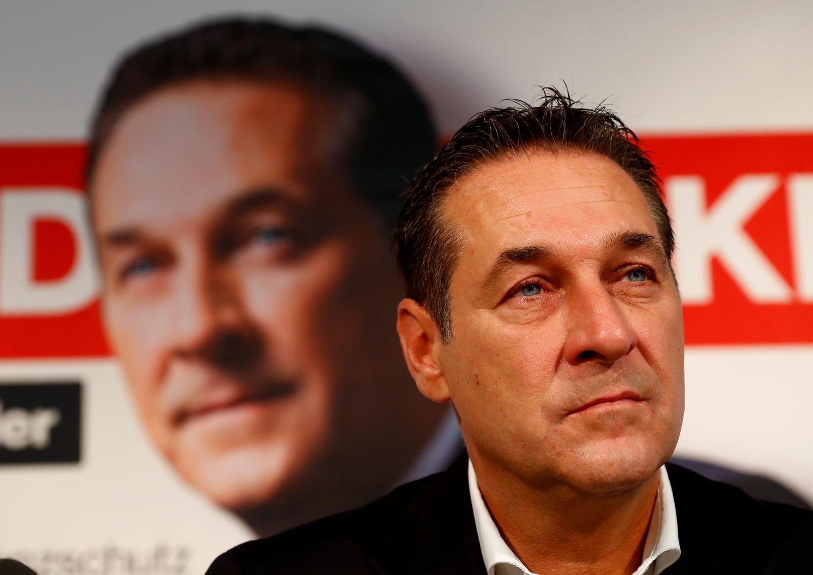 Wahl in Österreich/ Kanzler/ Heinz-Christian Strache