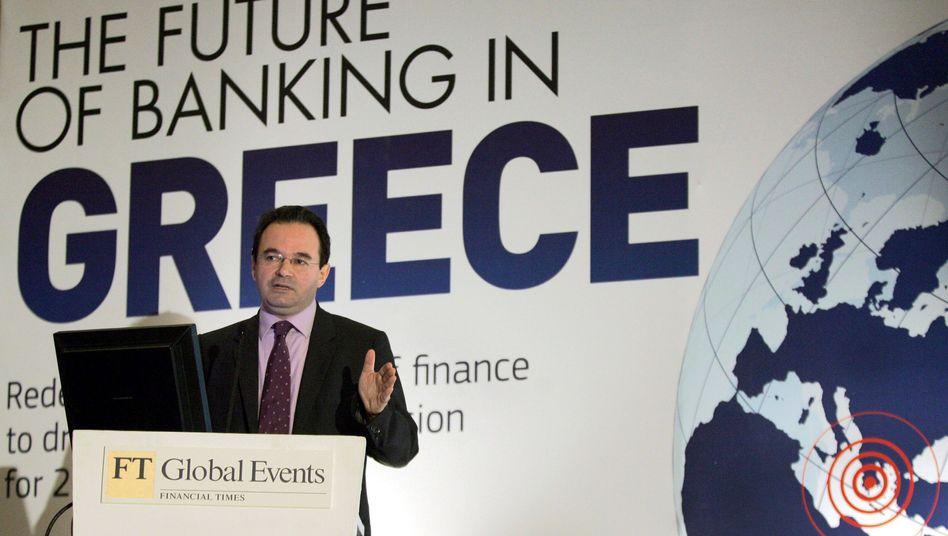 Griechischer Finanzminister Papakonstantinou: Hohe Renditeversprechen für Anleihen