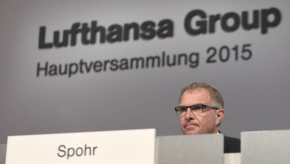 Lufthansa-Chef Spohr: Neue Jobs bei Billigflieger Eurowings