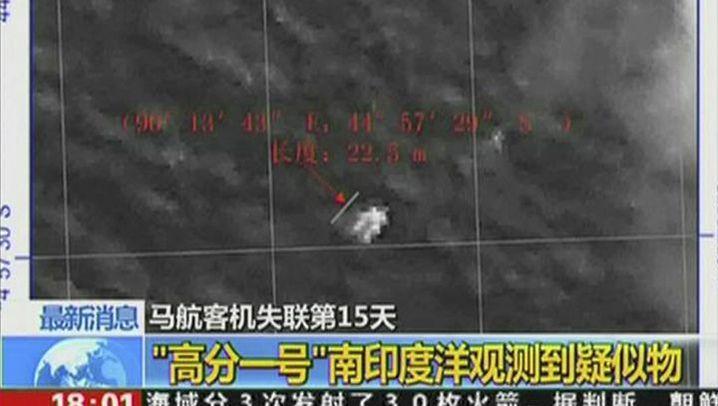 Boeing-Flug MH370: Hoffnung aus China