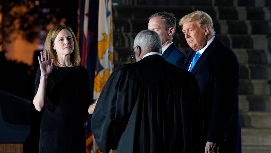 Amy Coney Barrett: Mit ihrer Ernennung bekommen die Republikaner die dominierende Mehrheit am Obersten Gericht