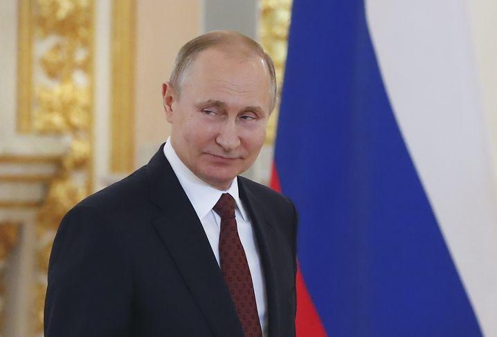 Putin in Moskau