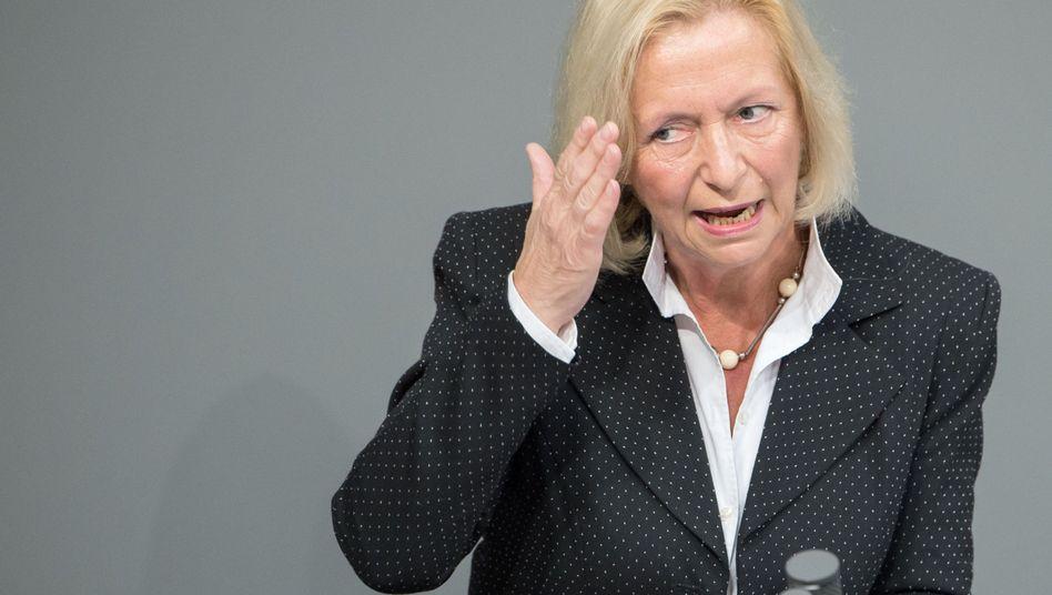 """Bundesforschungsministerin Wanka (CDU) im Bundestag: """"Ihr Pech"""""""