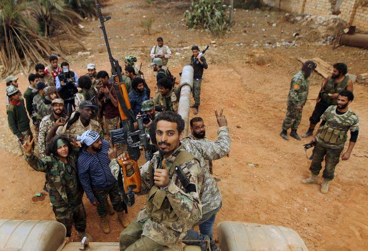 Kämpfer der Haftar-Milizen 2016