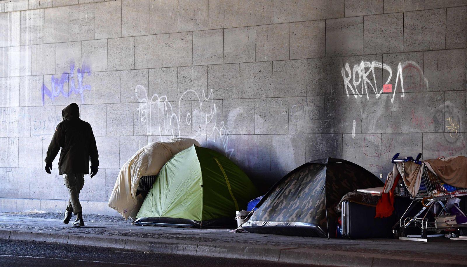 Berlin Obdachlose