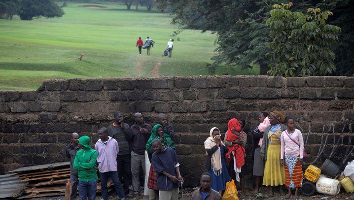 Slumbewohner in Nairobi: 10.000 Obdachlose für einen Kilometer Straße