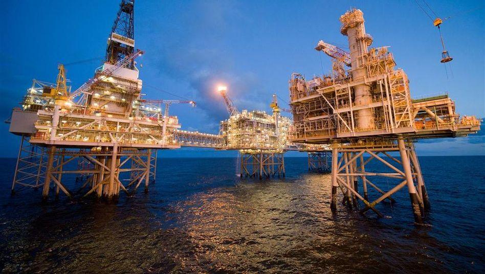 Ölplattform in der Nordsee: Seit Jahren auf Einkaufstour