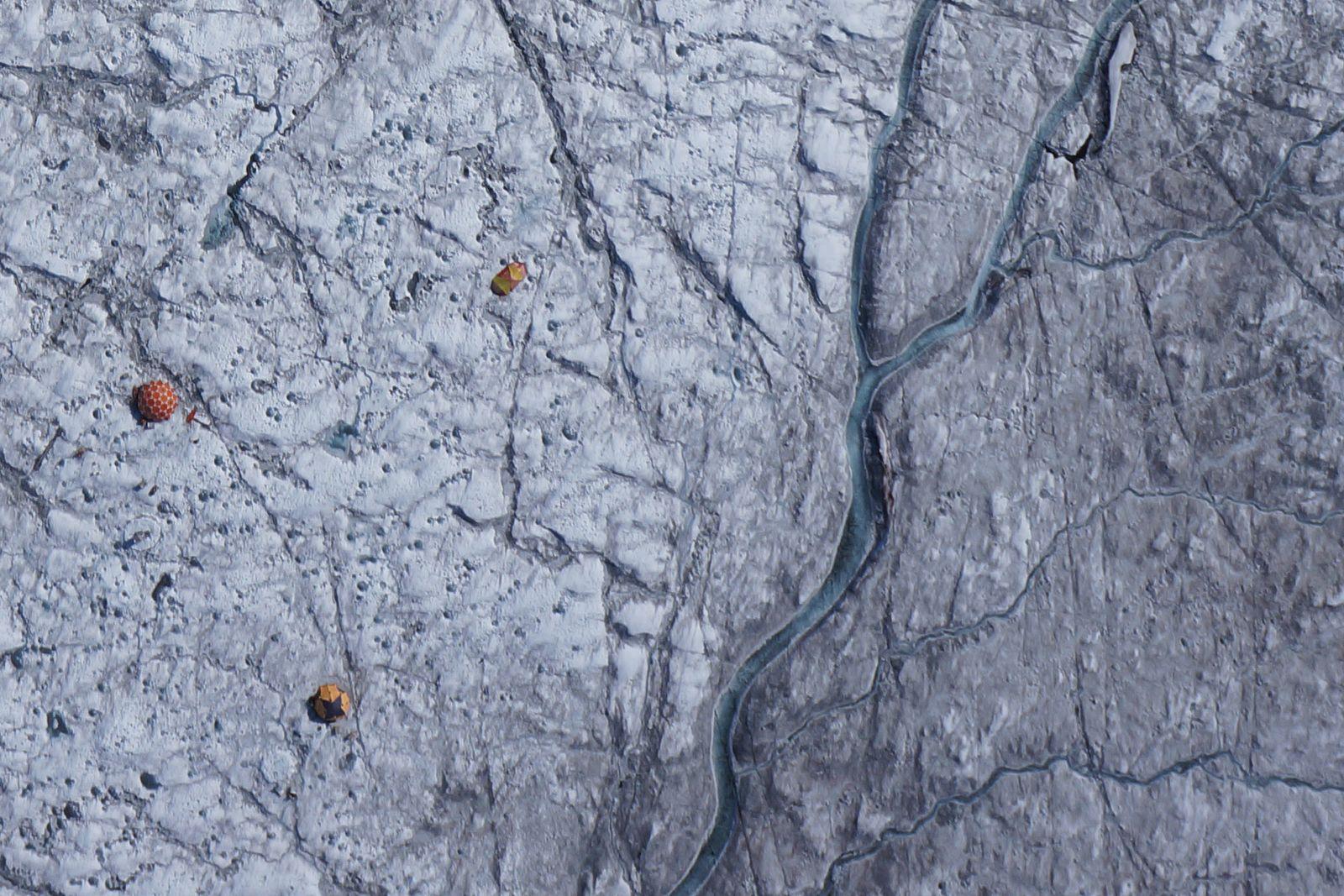 EINMALIGE VERWENDUNG Grönland/ Dunkle Zone