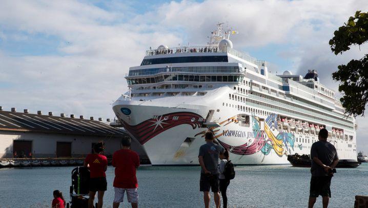 Kreuzfahrtschiffe in der Coronakrise