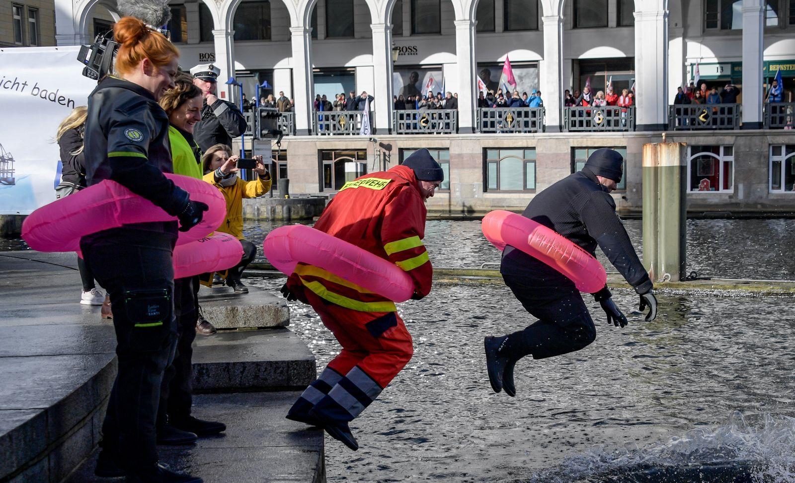 Streik öffentlicher Dienst Hamburg Alster