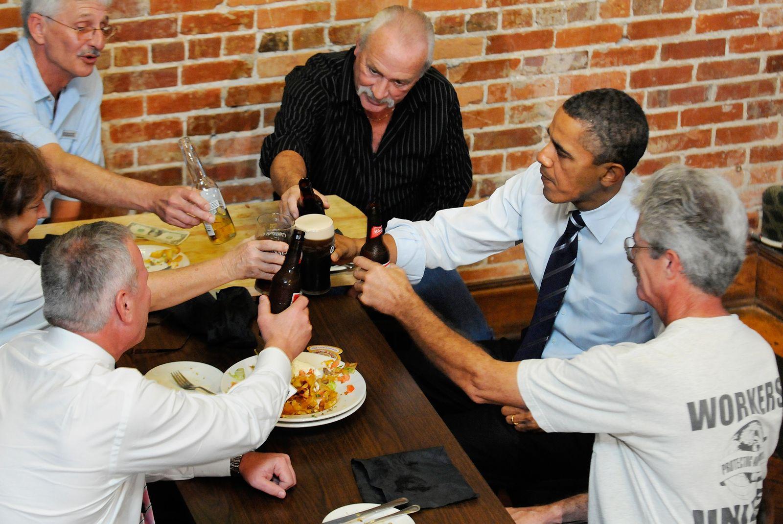 Obama/ Arbeitslose